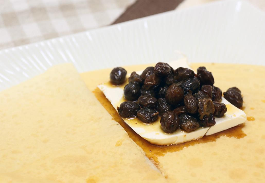 ラムレーズンチーズ550円